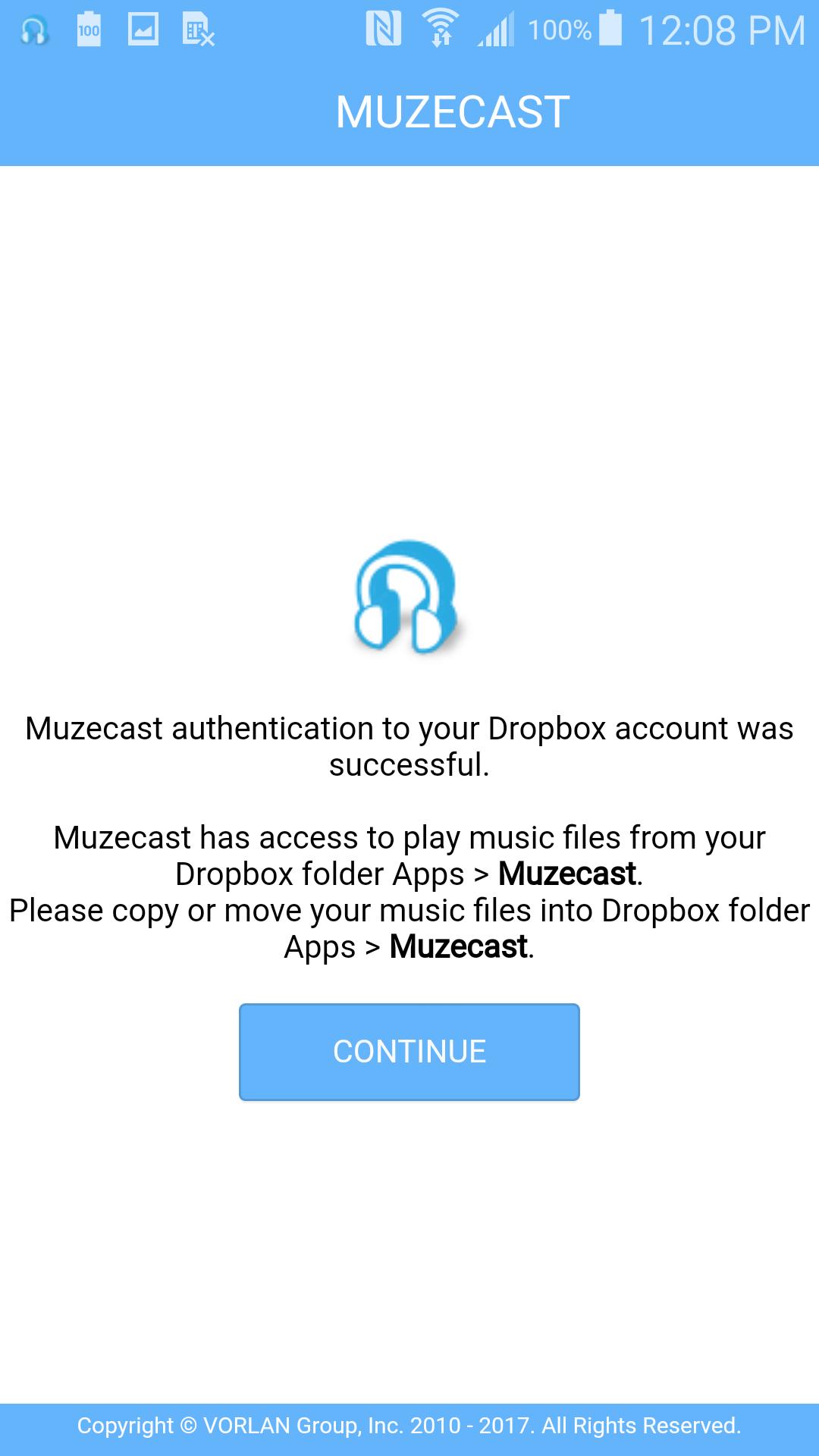 Dropbox continue